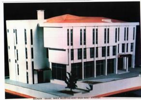 İskele Belediye ve Çok Amaçlı Binası Maketi