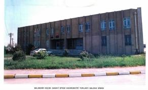 S.S. Balıkesir Küçük Sanayi Sitesi Toplantı Salonu Binası